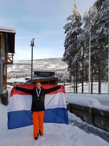 Silver in Lillehammer for Karlien Sleper - Monobob